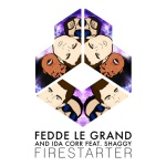 02.Fedde Le Grand and Ida Corr feat Shaggy_Firestarter_single cover